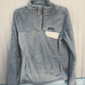 Patagonia W's Re-Tool Snap-T Pullover Feather Grey